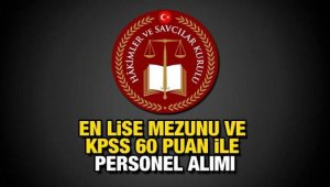 İki kuruma istihdam için alım ilanları Resmi Gazete'de