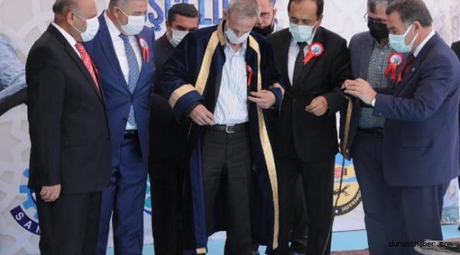 Kayseri'de yılın ahisi, törenle kaftanını giydi