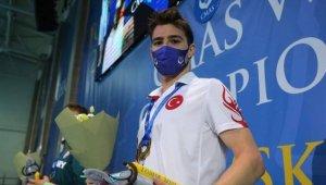 Milli sporcu Derin Toparlak paletli yüzme 5 bin metrede dünya şampiyonu oldu