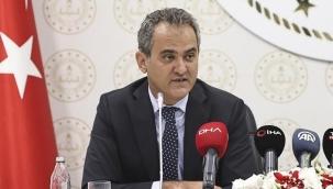 Son dakika haberi: Bakan Özer'den yüz yüze eğitim açıklaması
