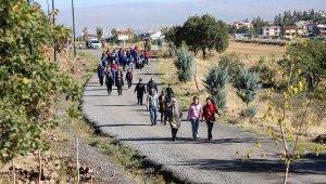 Talas'ta yürüyüş etkinliği düzenlendi